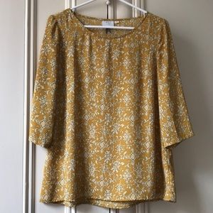Anthropologie {HD in Paris} 3/4 blouse